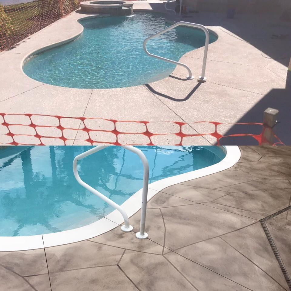 Pool Paver Sealing
