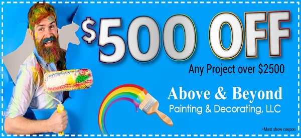Above and Beyond Painting Coupon