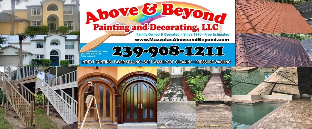 Above And Beyond Painting, Paver Sealing and Roof Cleaning